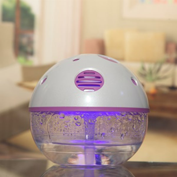 Lighted Water Air Purifier, Air Purifier Water Filter System - Eyun