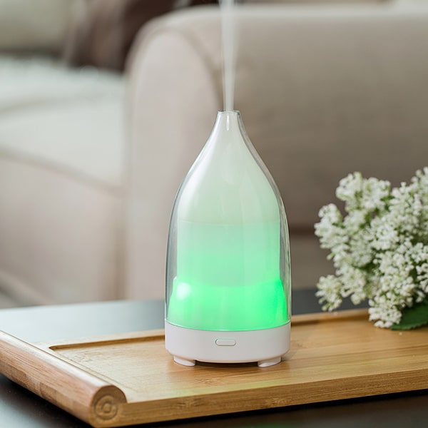 transparent design aroma diffuser humidifier