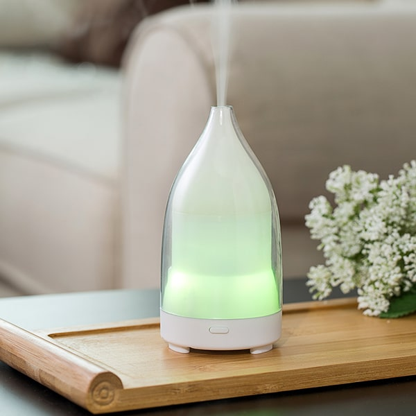 transparent design fragrance humidifier