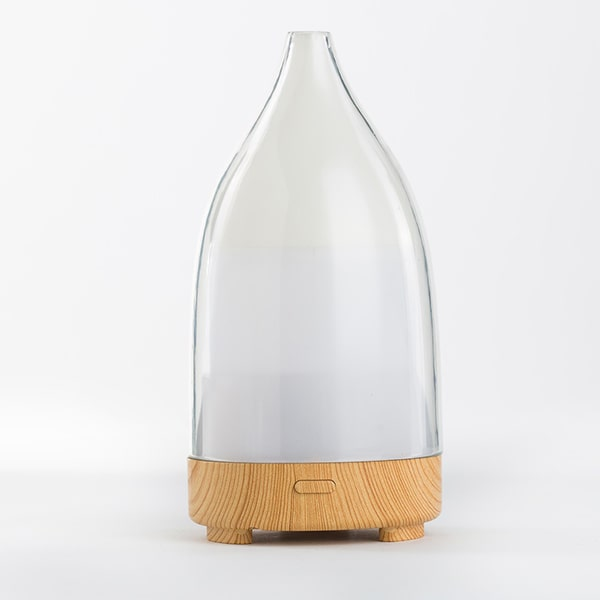 LED lights changing humidifier essential oil diffuser